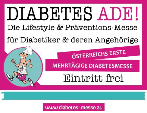 Diabetes ADE! Die Lifestyle & Präventions-Messe für Diabetiker & Angehörige