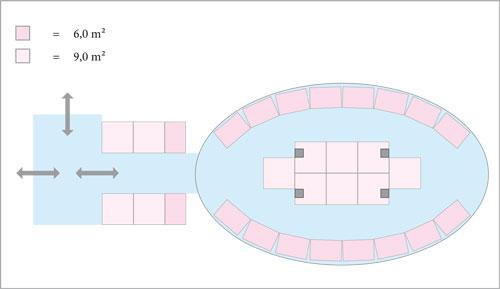 Innenbereich – MQ Ovalhalle