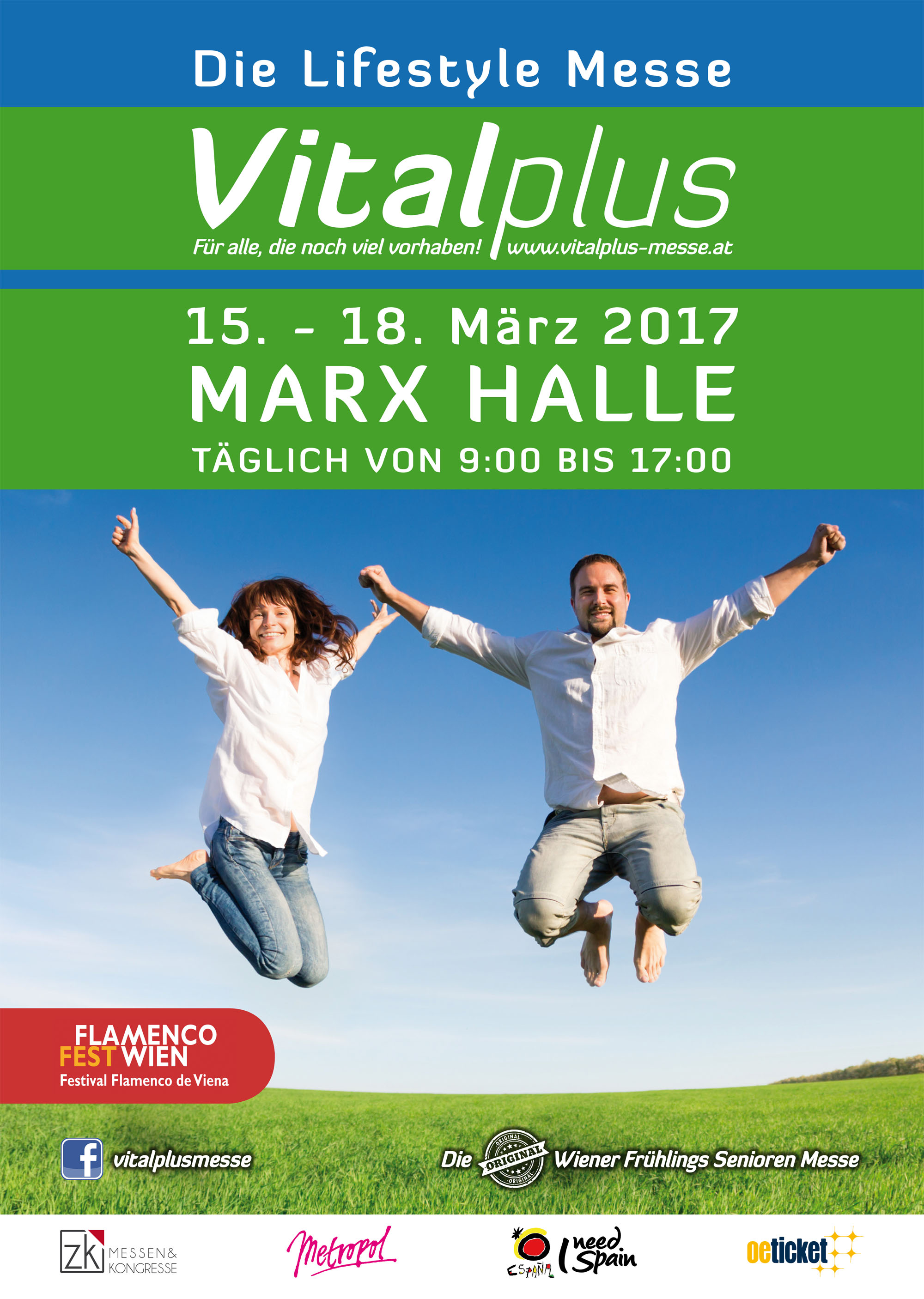 Die Lifestyle Messe Vitalplus - Die original Frühlings Senioren Messe